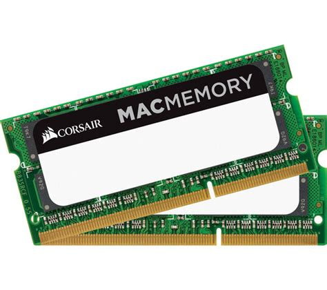 Ram Sodimm Ddr3 4gb Corsair corsair mac memory ddr3 pc memory 4 gb sodimm ram deals pc world
