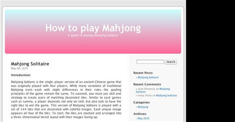 how to play mahjong for how to play mahjong casino gallery