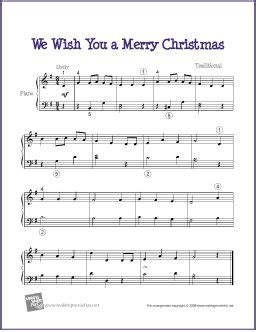 merry christmas easy sheet   piano httpmakingmusicfunnethtmf