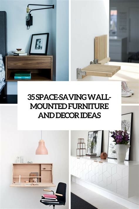 space saving furniture image home wall decoration picture of space saving wall mounted furniture and decor