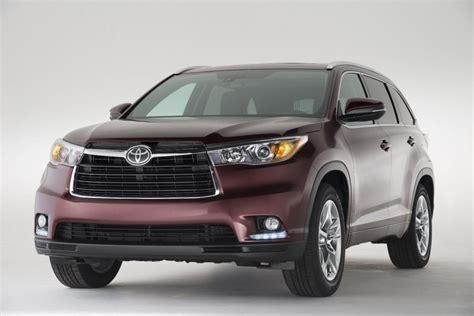 2014 Suv Toyota 2014 Toyota Highlander Suv Premium Interior With