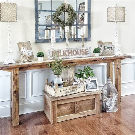 foyer table and mirror ideas farmhouse foyer table and mirror home foyers entries