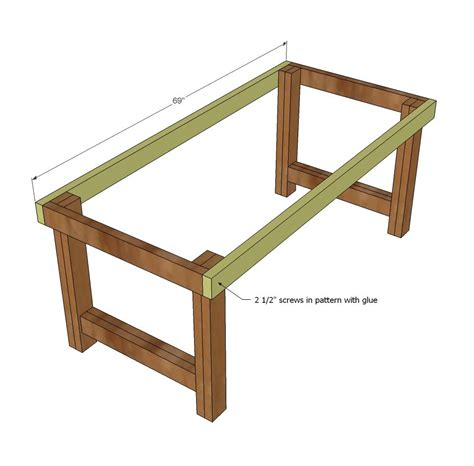 diy attach table legs white build a happier homemaker farmhouse table free and easy diy project and furniture
