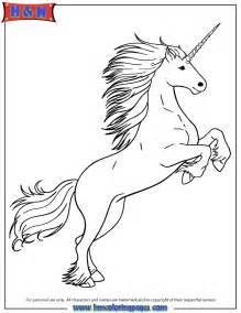 unicorn coloring pictures white unicorn coloring page h m coloring pages