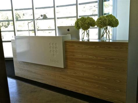 Executive Wooden Desk Modern Office Reception Desk Office Design Reception Desk