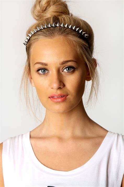 spiked headband bold and beautiful 10 statement hair accessories the upcoming