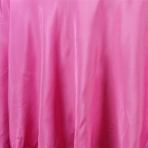 fuschia pink table cloth fuchsia fushia 108 quot polyester tablecloth for wedding