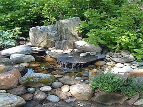 outdoor hanging beds small rock garden design rock