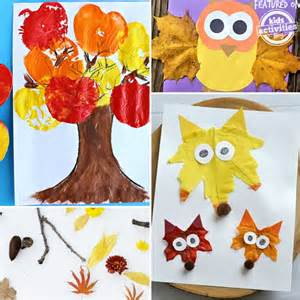 craft ideas preschoolers 24 preschool fall crafts