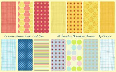 pattern photoshop deviantart summer pattern pack vol 2 by camxso on deviantart