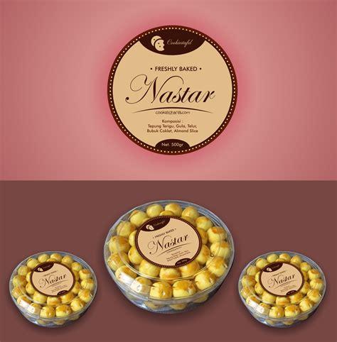contoh design label kue gallery desain label untuk toples kue kering