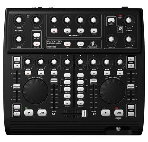 console mixer dj bcd3000 usb dj mixing console