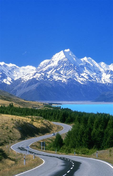 drive nz new zealand mount cook scenic road 0 luxury rental cars
