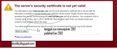 ada apa dengan olx kok tidak bisa dibuka belajar mengatasi masalah invalid security certificate pada