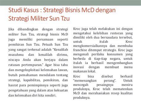 Sun Tzu Strategi Untuk Pemasaran penggunaan strategi militer dalam bisnis