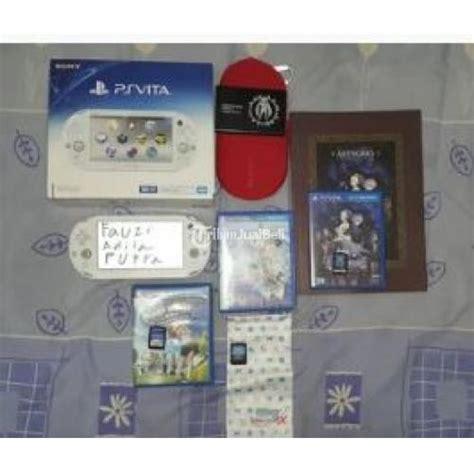 Murah Ps Vita Card konsol murah psp ps vita slim white bonus banyak