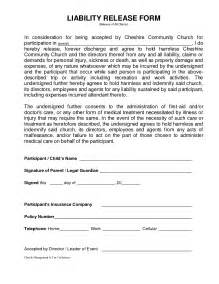 property damage waiver template generic liability waiver and release form