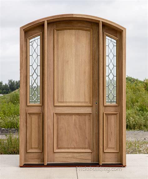 Arched Exterior Doors Arched Mahogany Exterior Door Cl 4301