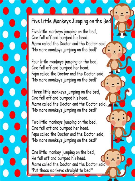 new year monkey poem from kindergarten with july 2012