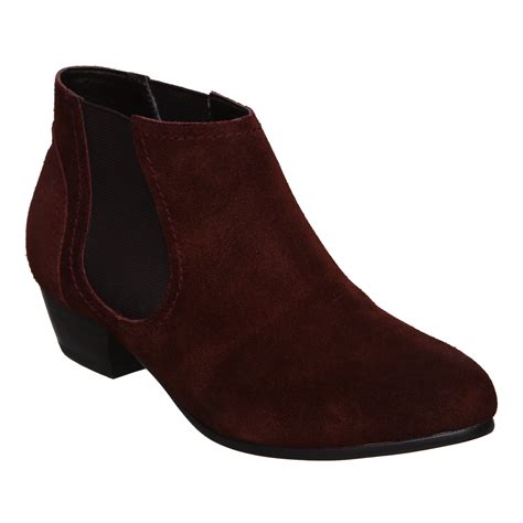 new bertie oriana suede womens chelsea ankle