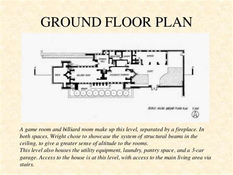 robie house site plan robie house plan analysis house and home design