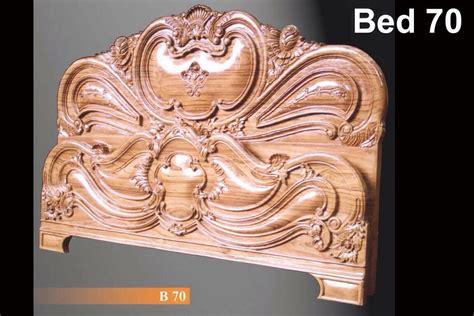 Teak wood Bed 70