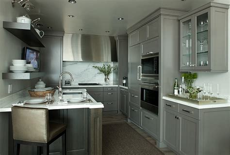 Grey Kitchen Cabinets by Kitchen Cabinets The 9 Most Popular Colors To From