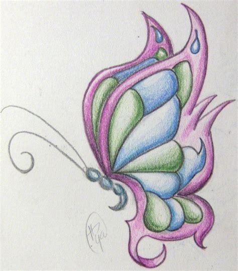 imagenes de mariposas moldes las 25 mejores ideas sobre dibujos de colores en pinterest