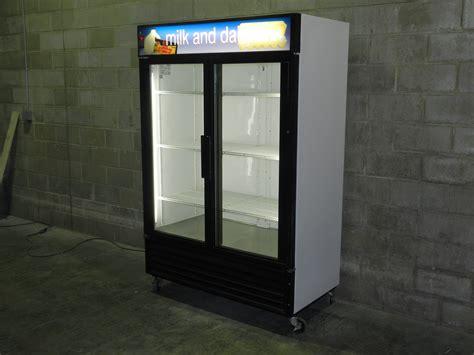 Glass Door Cooler Used Used Two Glass Door Cooler Merchandiser Used Two Glass Door Cooler Used 2 Glass Door Cooler