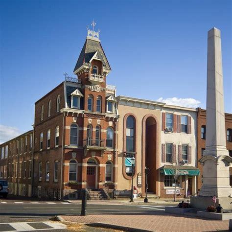 Doylestown Post Office by Doylestown Bucks Pennsylvania United States City
