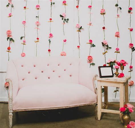dinding cantik diy dinding penuh bunga cantik di hari valentine