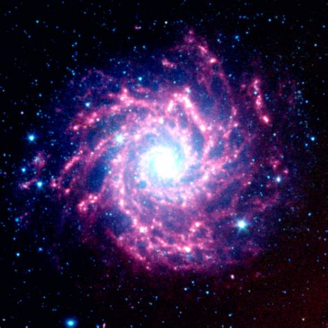 nasa space pictures space images supernova dust factory in m74