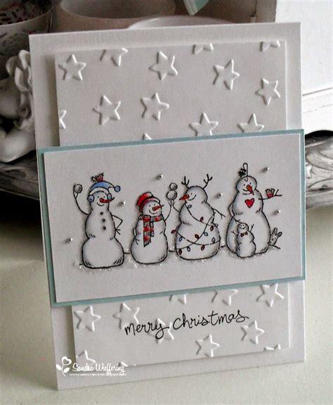 Handmade Snowman Cards - 1000 ideas about handmade cards on