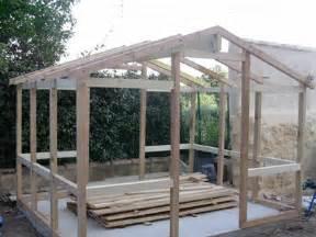fabrication d un abri de jardin forum jardin