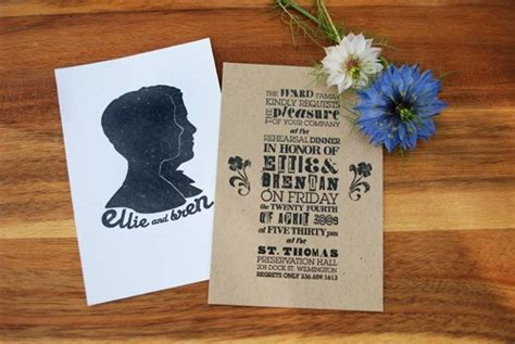 Printing On Craft Paper - where to print invites on kraft paper weddingbee