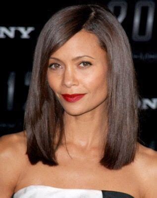 medium length hairstyles where layers hit occipital bone below the shoulder one length pinterest the shoulder