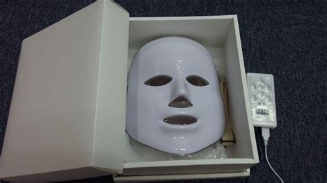 red light therapy mask 7 colors photon pdt led skin care mask blue green