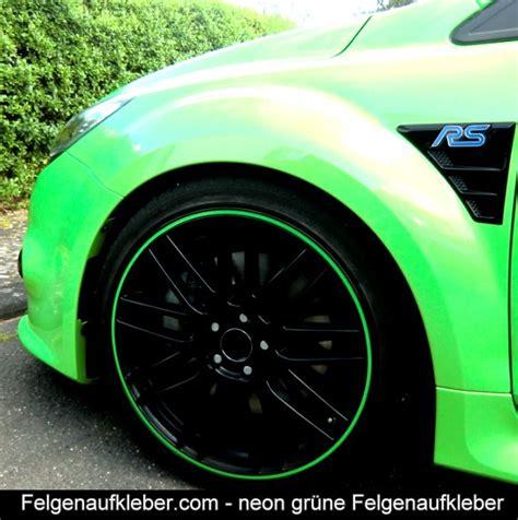 Felgenrandaufkleber Motorrad Neon Gelb by Neon Felgenrandaufkleber