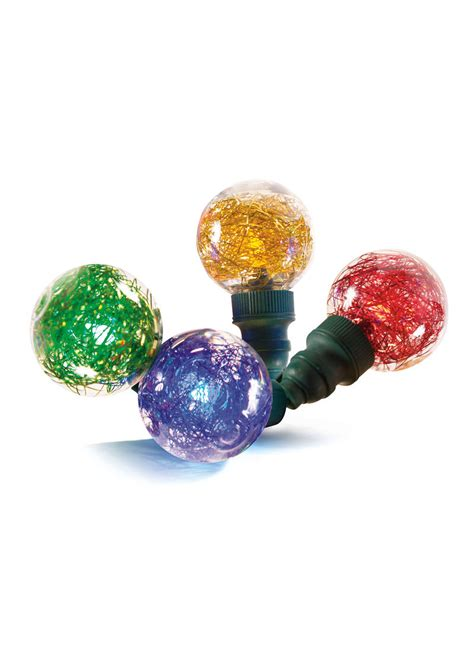 string tinsel tinsel led string lights warm white or colorful indoor