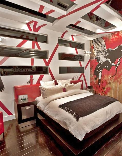 cool painting ideas for bedrooms 3d effect cool painting ideas for bedrooms