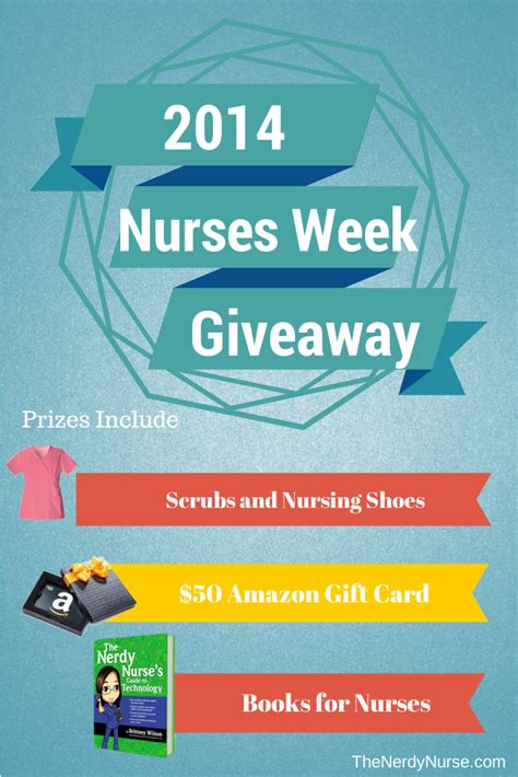 Nurses Week Giveaways - nurses week giveaway the nurse teacher