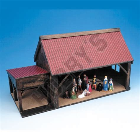 shop nativity stable plan hobbyukcom hobbys