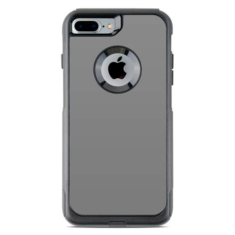 otterbox commuter iphone 7 plus skin solid state grey by solid colors decalgirl