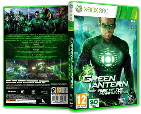Green Lantern Rise Of The Manhunters Ps3 green lantern rise of the manhunters 2011 pal rus p