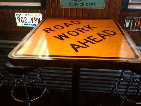 road sign tables  rtravln  lumberjockscom