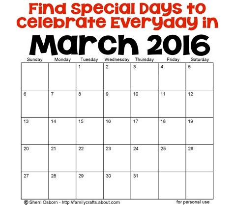 march 2015 best days march holidays and special days holiday favorites