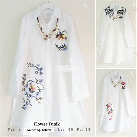 Grosir Baju Murah Grosir Baju Baju Wanita Bello E Murah grosir baju murah flower tunik grosir baju muslim pakaian wanita dan busana murah