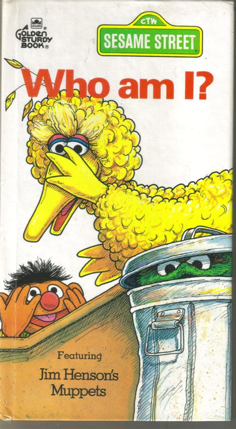 who am i books vintage golden book sesame board book who am i