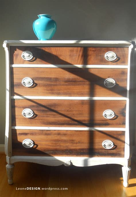 two tone dresser bedroom furniture fab two toned furniture makeovers diy show offdiy show