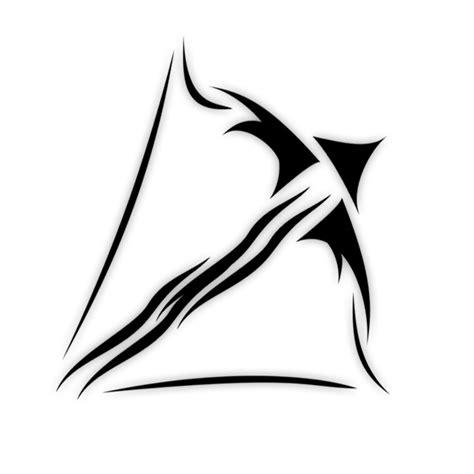 sagittarius tribal tattoo designs zodiac tattoos png transparent zodiac tattoos png images